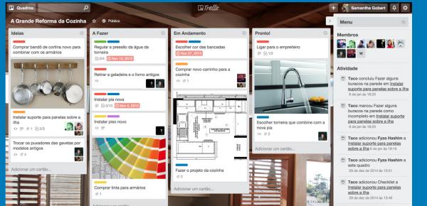 O Trello é um gerenciador de tarefas e equipes pronto para ser usado de seu smartphone ou tablet.