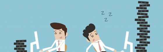 6 atitudes e situações que afetam a produtividade no trabalho