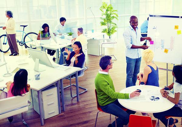 Boas condições, estrutura e clima no trabalho inibem a falta de motivação.