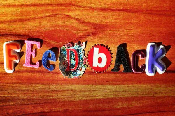 avaliaçaõ de desempenho feedback