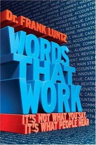 """Capa do livro """"Words that work"""", de Lun"""